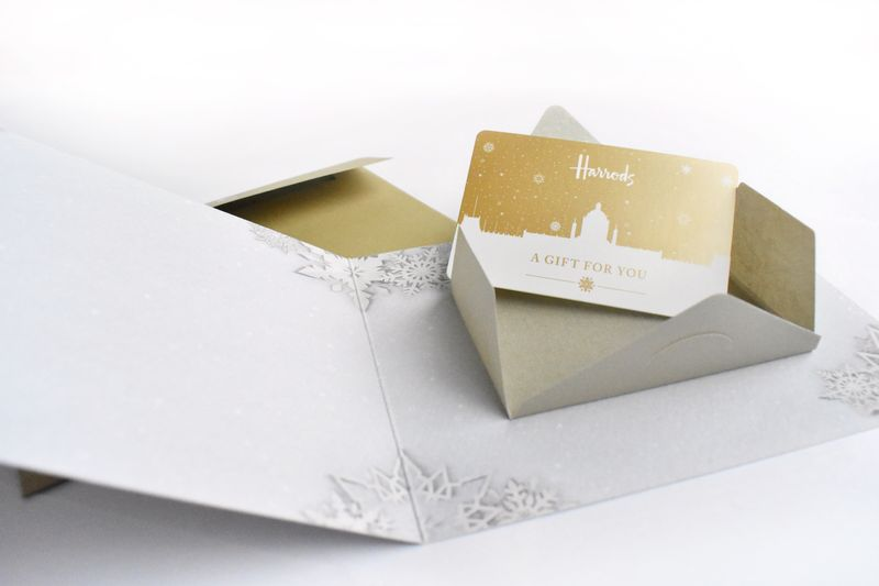 Christmas Gift Card Packaging