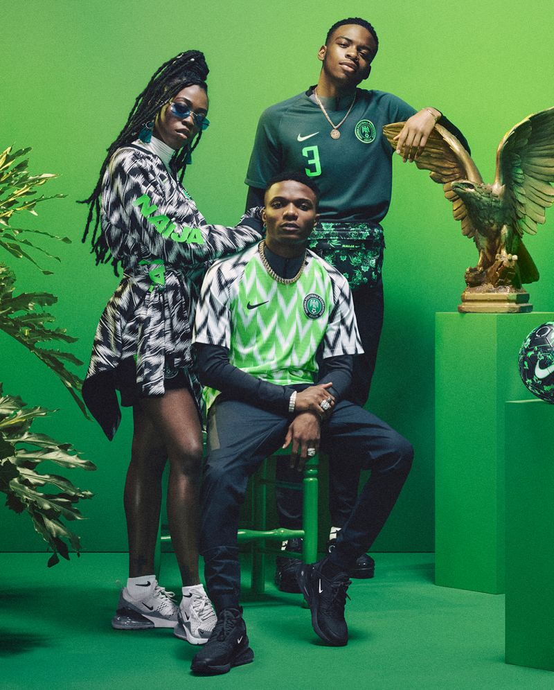 Photographer Namsa Leuba for Nike X Naija