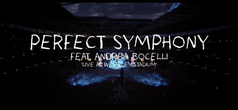 Ed Sheeran - Perfect Symphony feat. Andrea Bocelli Live at Wembley Stadium