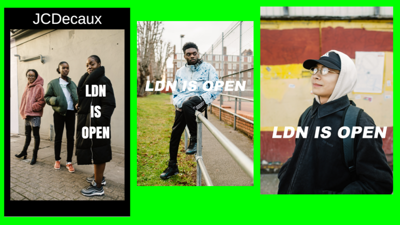 JCDecaux [LDN IS OPEN] - D&AD 2018