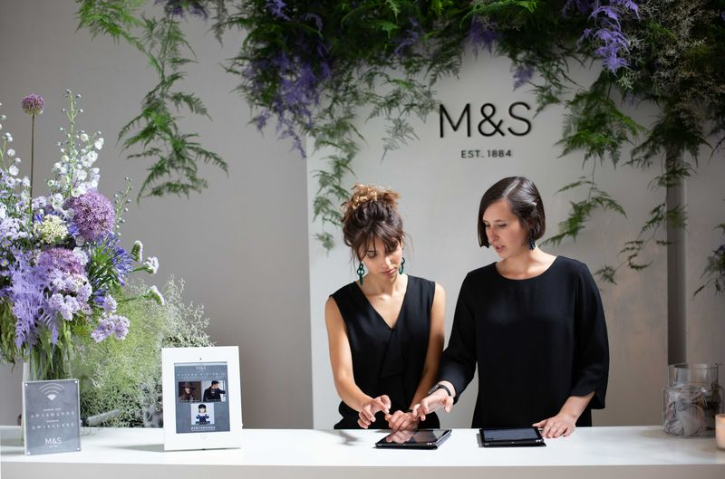 Marks and Spencers AW18 International Press Events