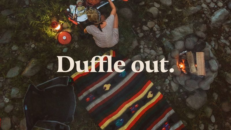 Duffle out. Identity