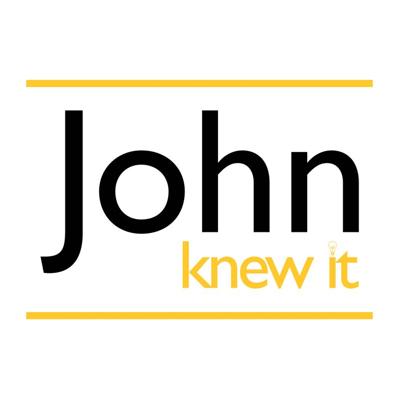 JOHN KNEW IT, NEW BLOOD BRIEF - ACADEMIC, 2018