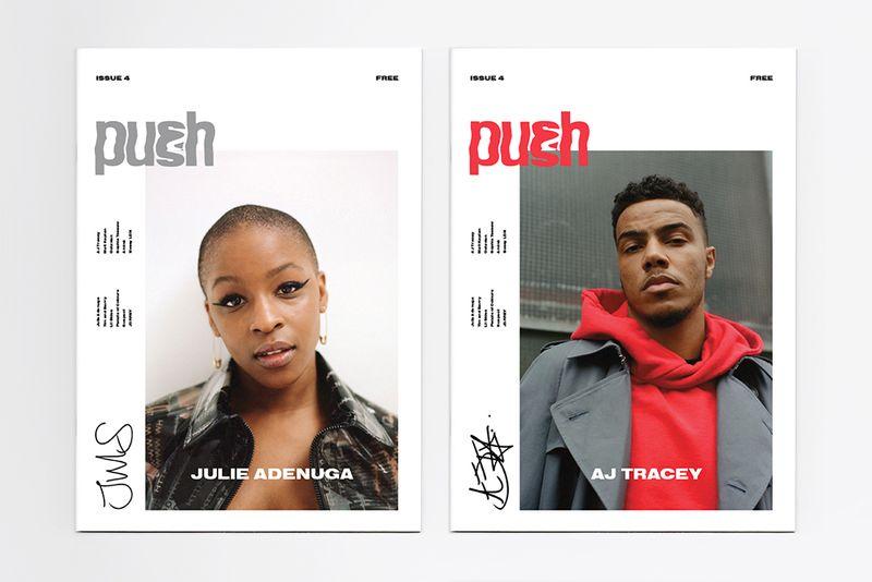 PUSH Magazine – Art Direction