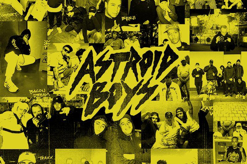 Astroid Boys – Art Direction + Design