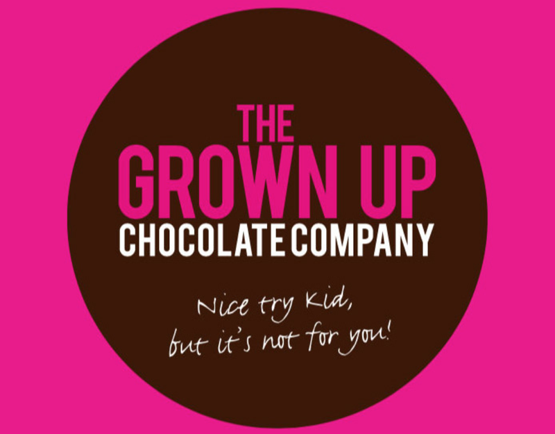 The Grown Up Chocolate Company - Packaging Design