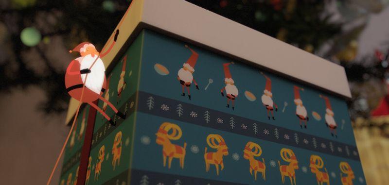 CHRISTMAS IDENT - VIASAT FILM HD