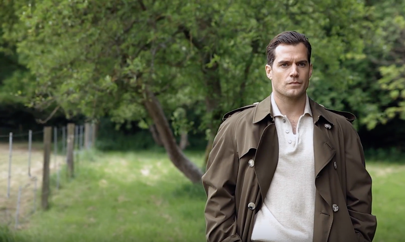 Henry Cavil BTS for GQ Australia