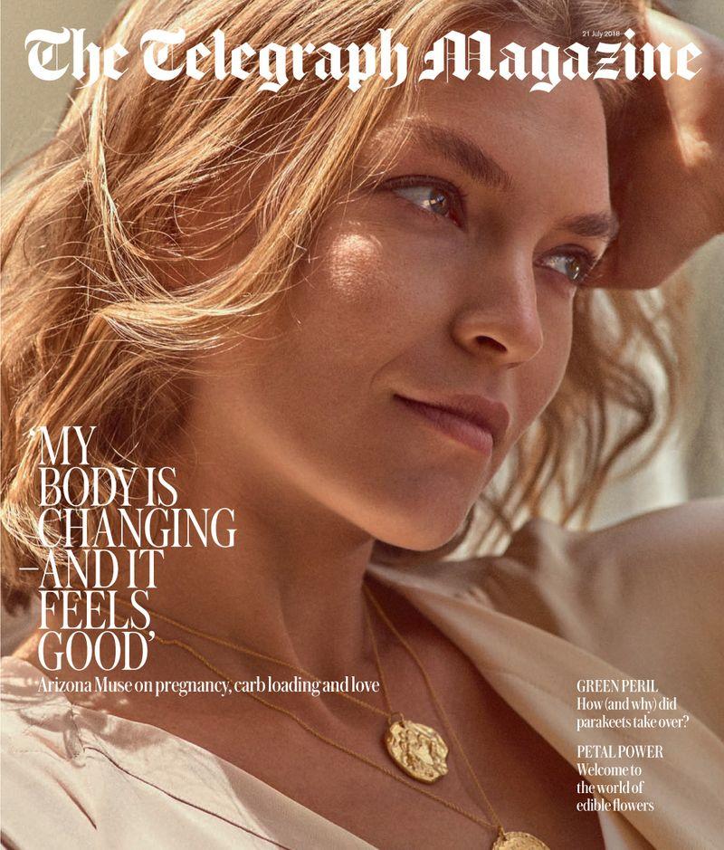 Telegraph Magazine x Arizona Muse x Cedric Buchet
