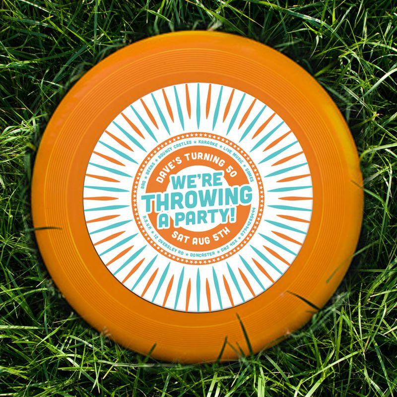 Frisbee Invite