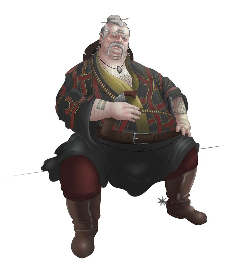 Character Design  - Wyatt Earp