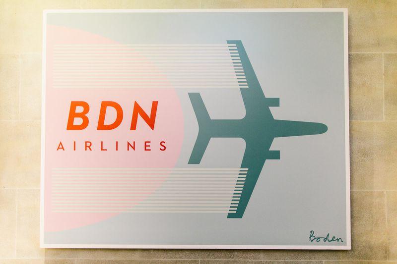 Boden Airways Press Event