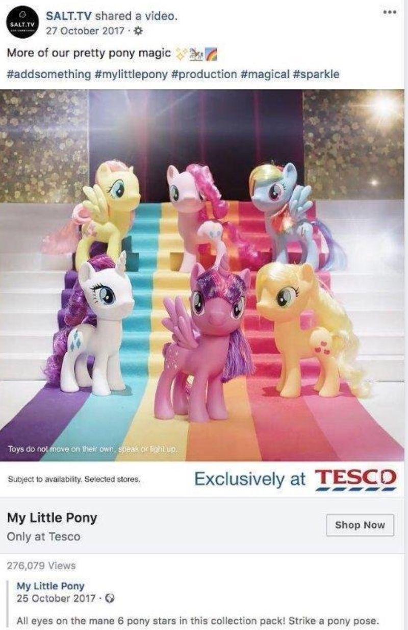 MY LITTLE PONY MOVIE SOCIAL CAMPAIGN