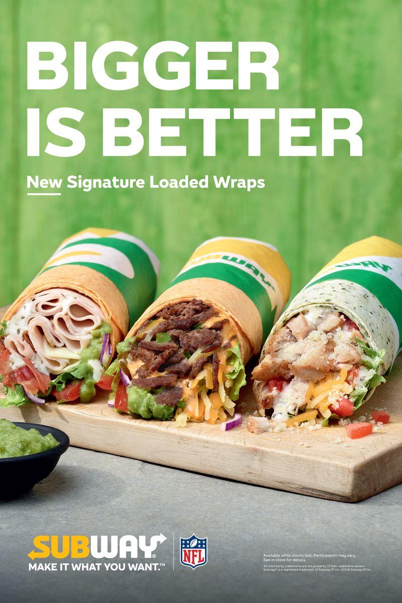 Subway Wraps
