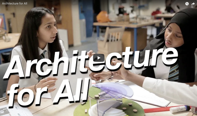 'Architecture for All' film on diversity in education. Featuring Pooja Agrawa