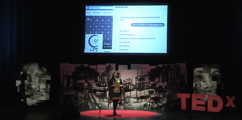 How women survivors are taking back the power through technology | Hera Hussain | TEDxEastEnd