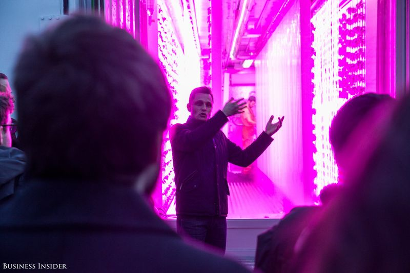 Kimbal Musk just opened a shipping container farm compound in New York City