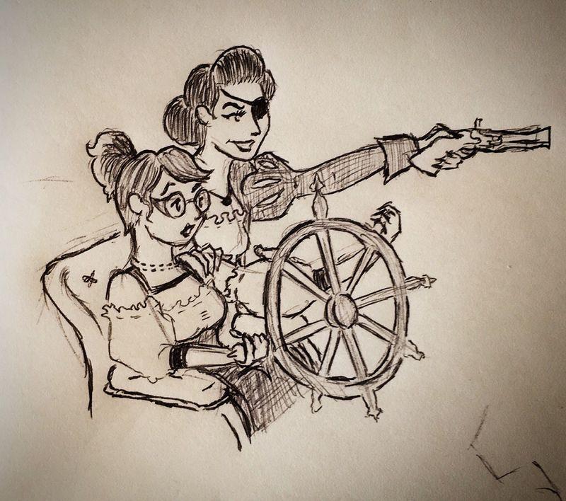 Captain Bang Bang & First Mate Teacup