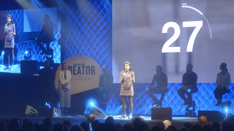 Chatterbox winning the Creator Awards
