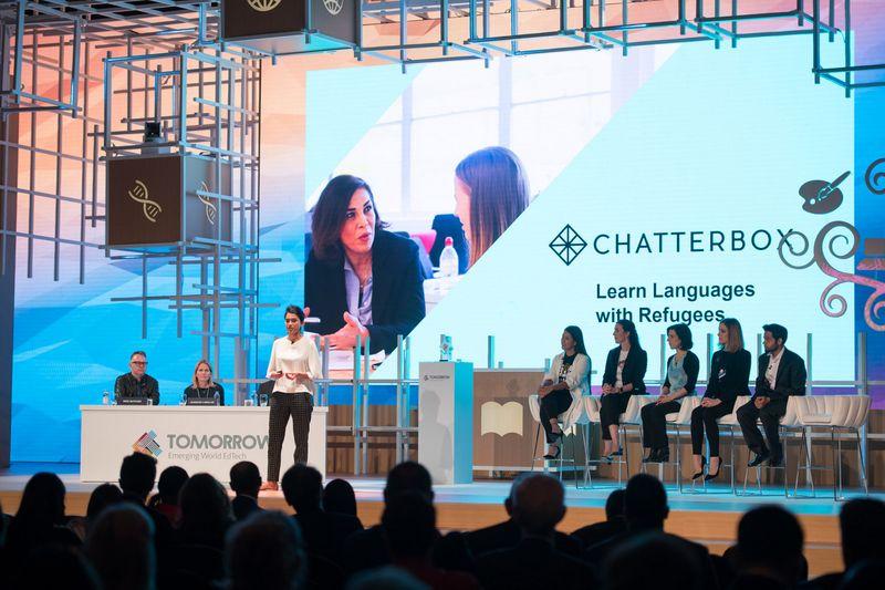 Chatterbox winning the Varkey Foundation Next Billion Edtech prize