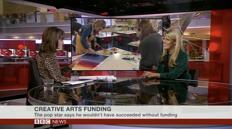 BBC Interview:  Pip Jamieson - Creativity should not be reserved for those who can afford it