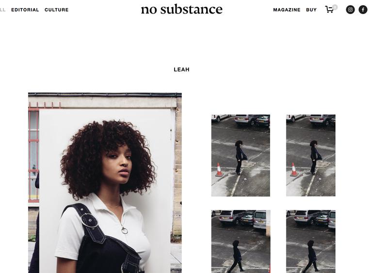 NO SUBSTANCE: LEAH