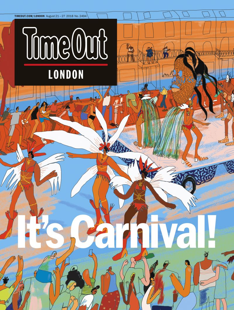 Time Out London cover
