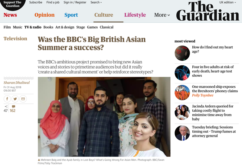 Was the BBC's Big British Asian Summer a success?