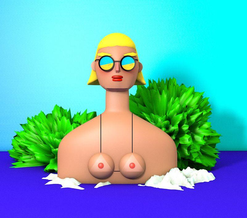 My 3D mess