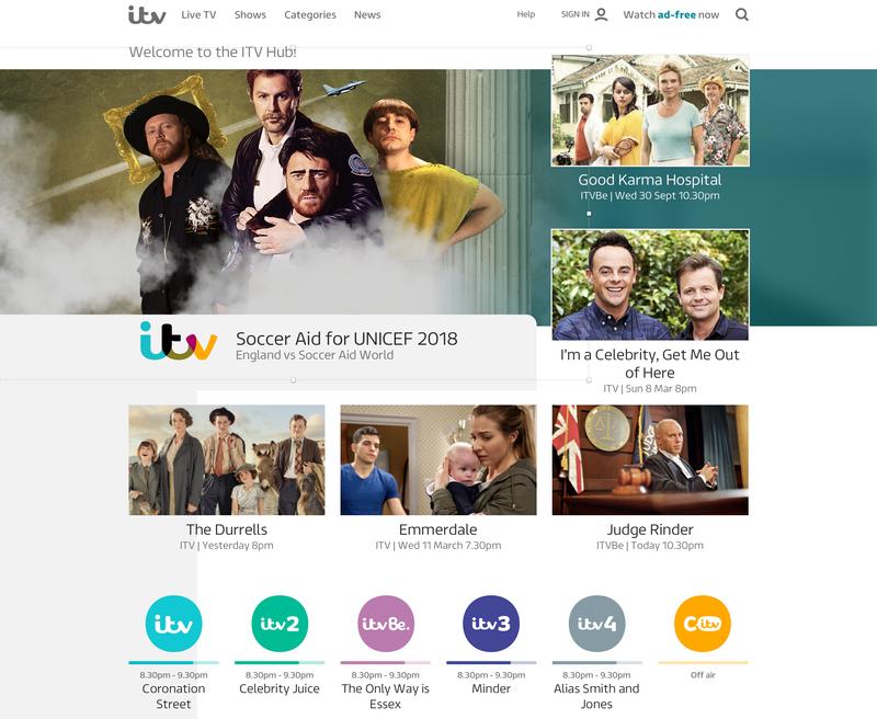 The ITV Hub