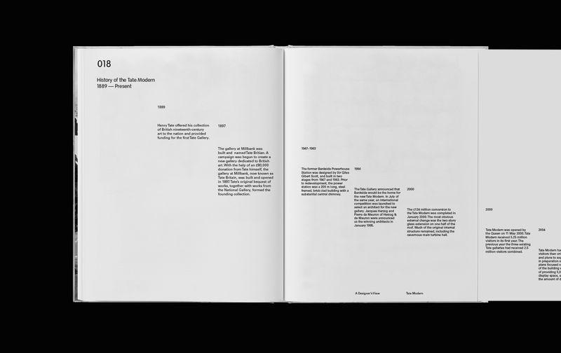 Tate Modern, A Designers View