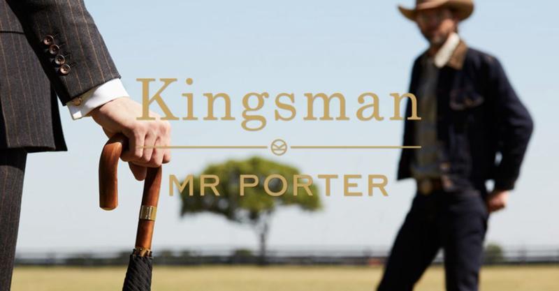 MR PORTER x KINGSMAN: THE GOLDEN CIRCLE