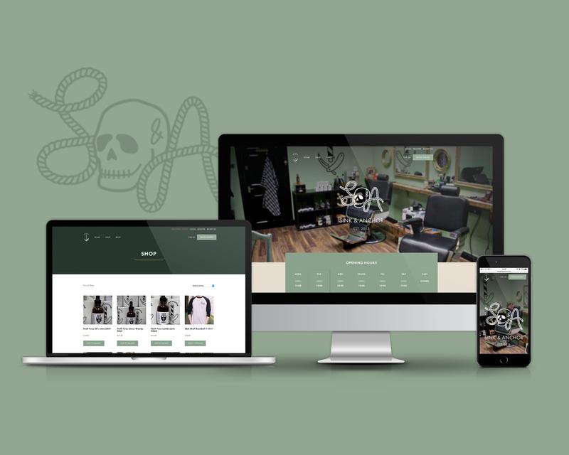 Website Design - Sink & Anchor