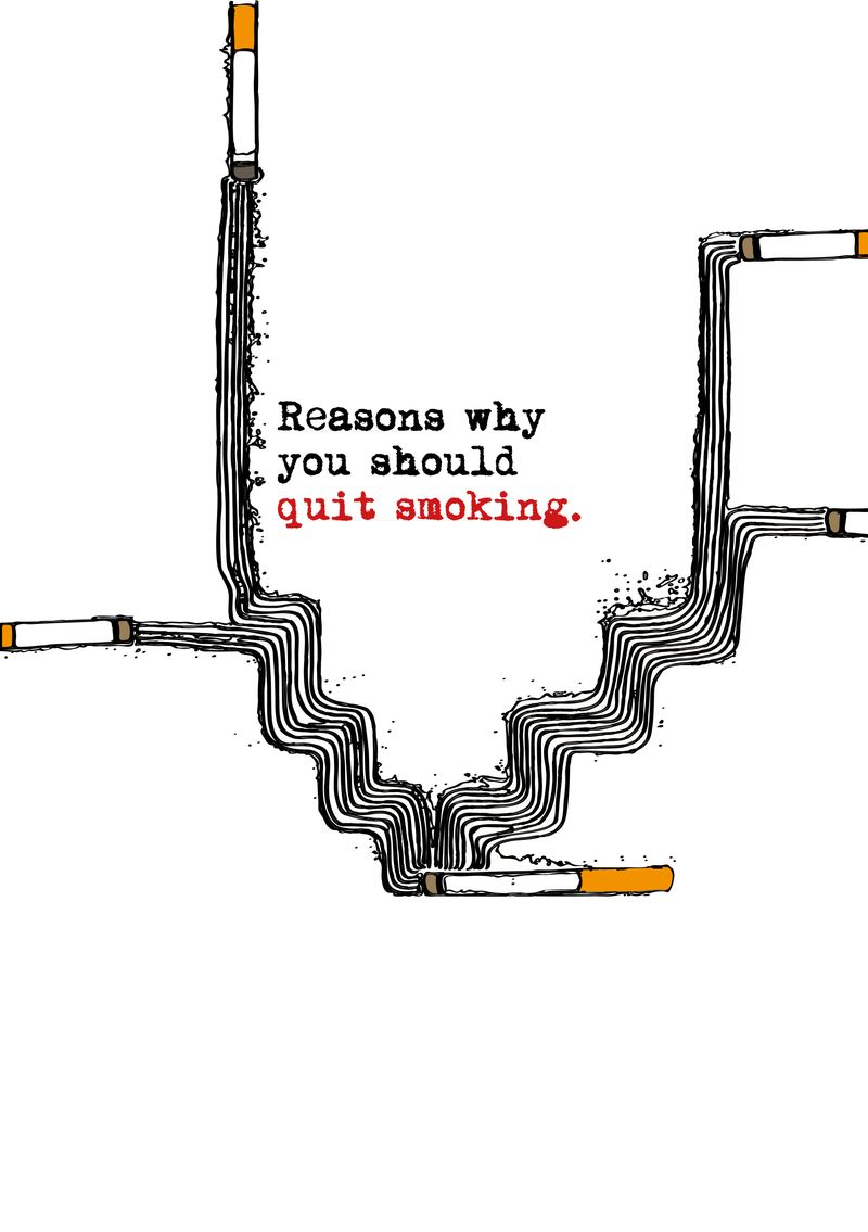 Reasons why you should quit smoking.