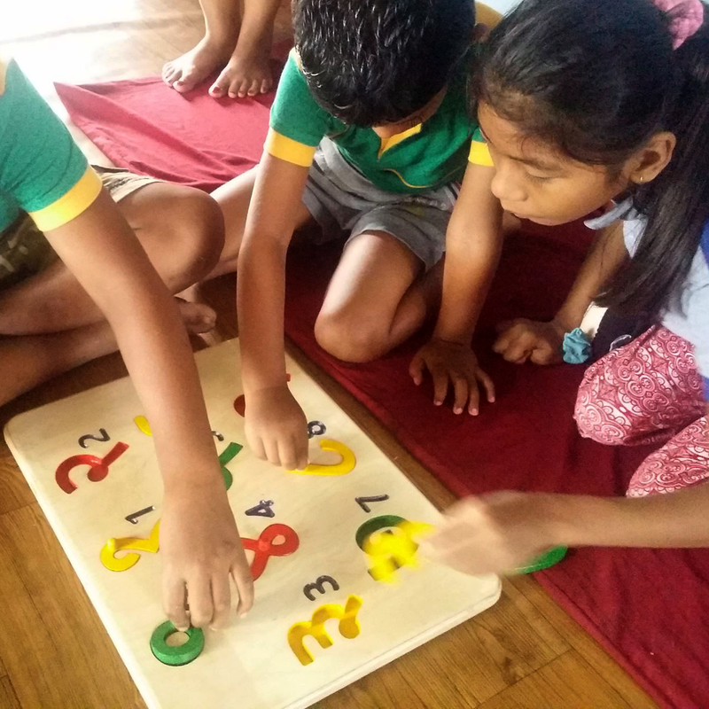 Bi-lingual teaching aid for Nepalese Disability Centre