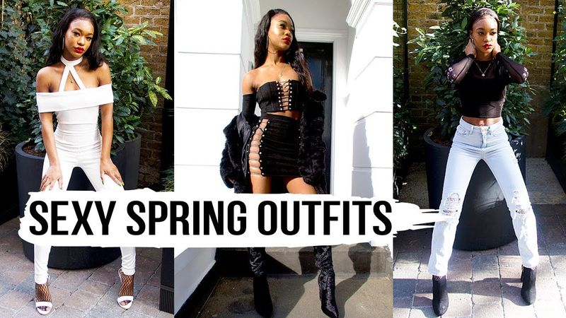 SEXY SPRING OUTFITS LOOKBOOK