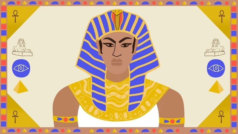 All Hail Hatshepsut, the Cross-Dressing Queen Turned Powerful Pharaoh | Vice | Broadly | Erin Aniker Illustration