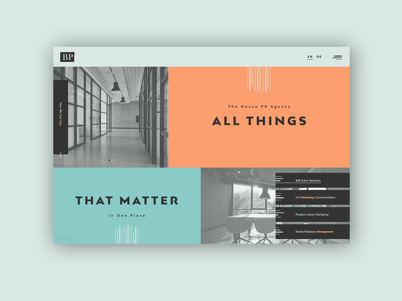 Communications Agency ► Web Design