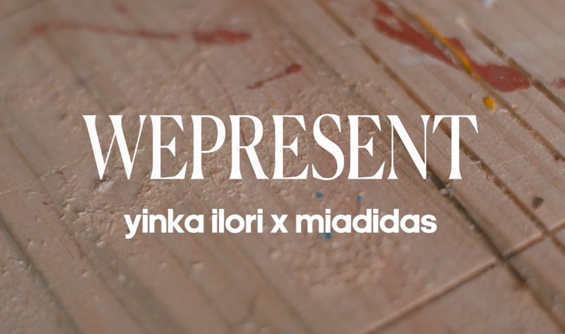 Yinka Ilori x miadidas:  I think sometimes it's quite good to be niche