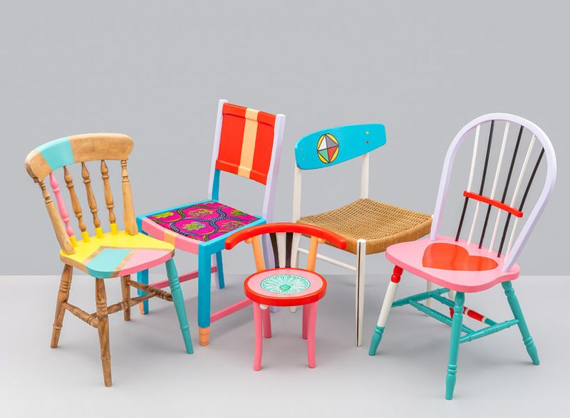 Restoration Station x Yinka Ilori: Upcycle unique furniture for LDF 2017