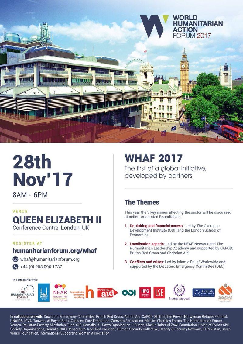 World Humanitarian Action Forum 2017