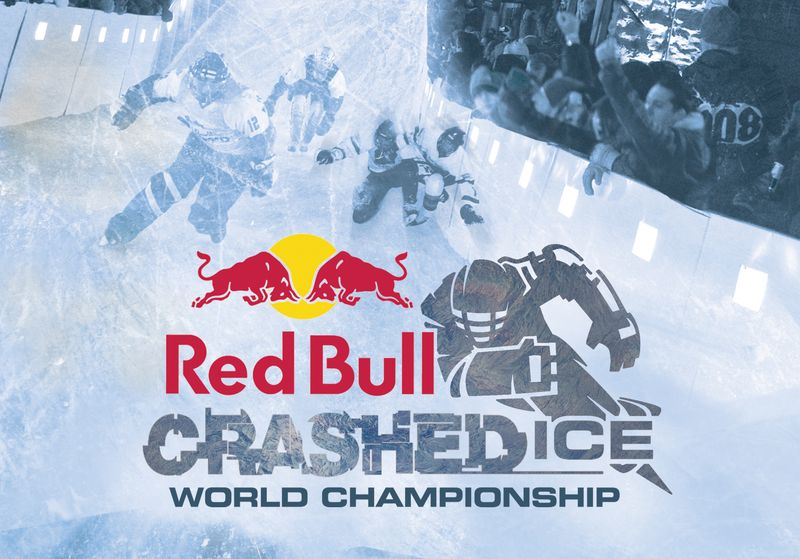 Red Bull 'Crashed Ice' promotional campaign