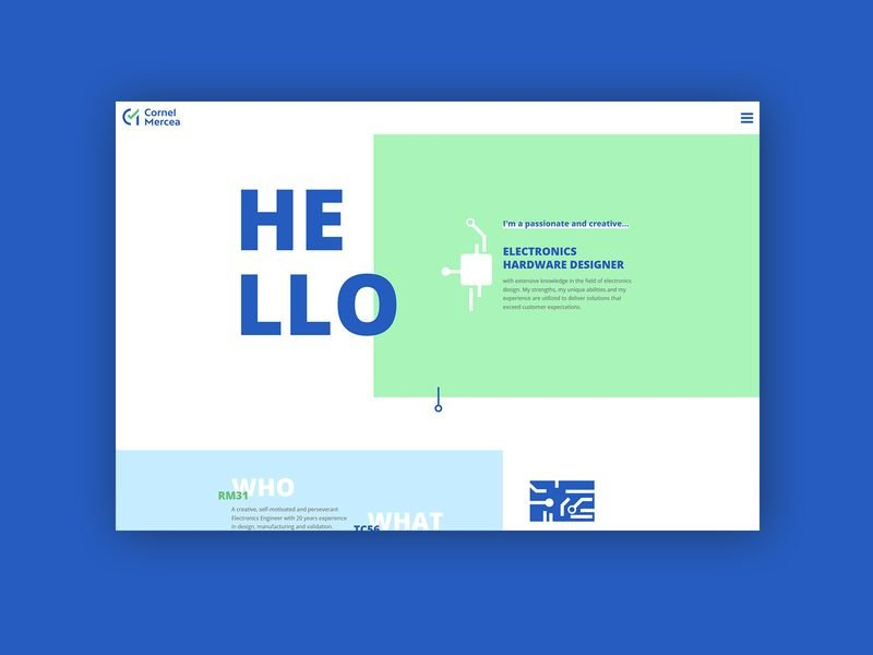 Cornel Mercea Web Design