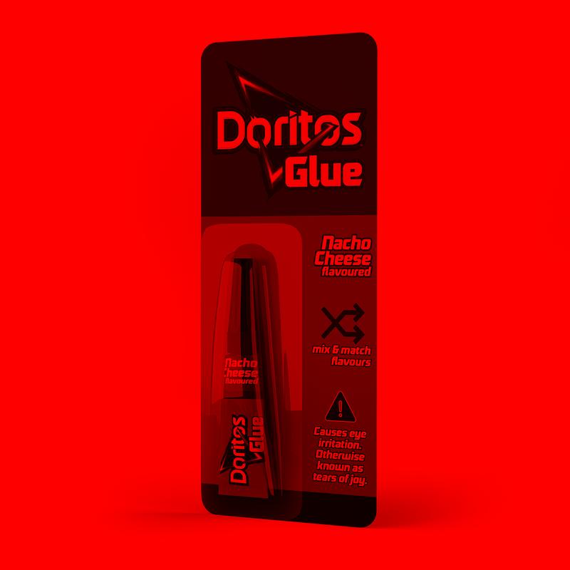 Doritos Glue