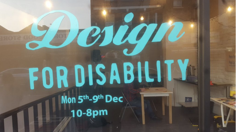 Design for Disability | Pop-up shop