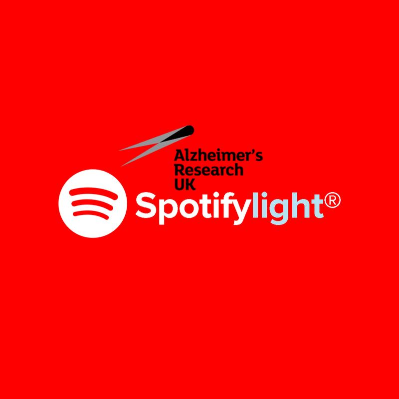 Spotifylight — Alzheimer's Research UK