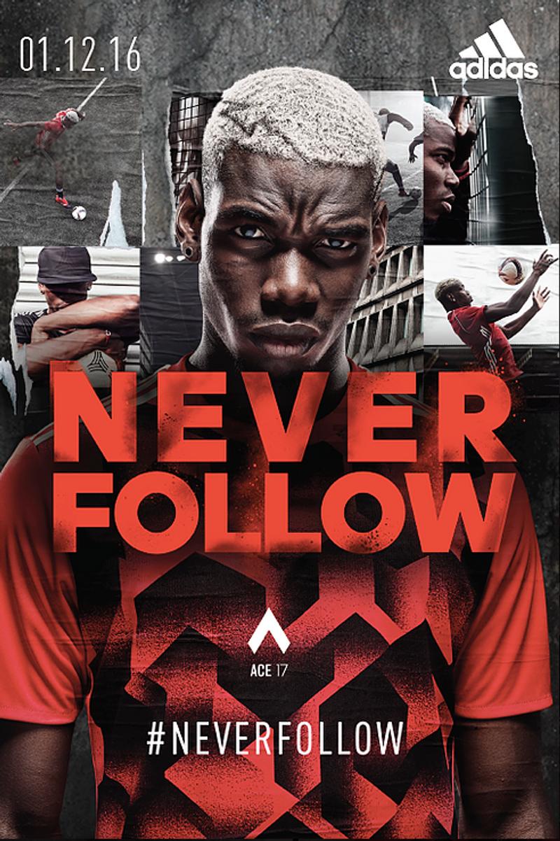 Adidas 'Never Follow' Campaign