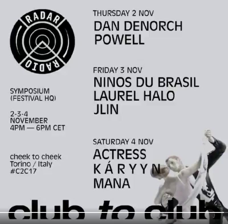 Club To Club Festival x Radar Radio