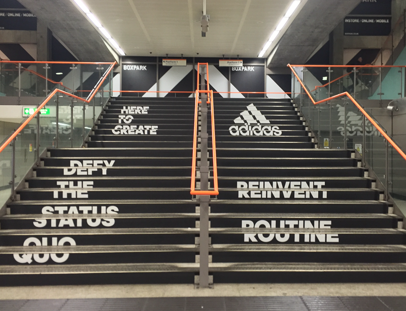 Adidas Experiential Campaign