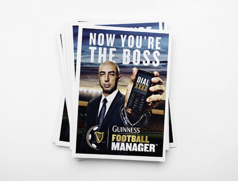Guinness 'Be The Boss' Campaign
